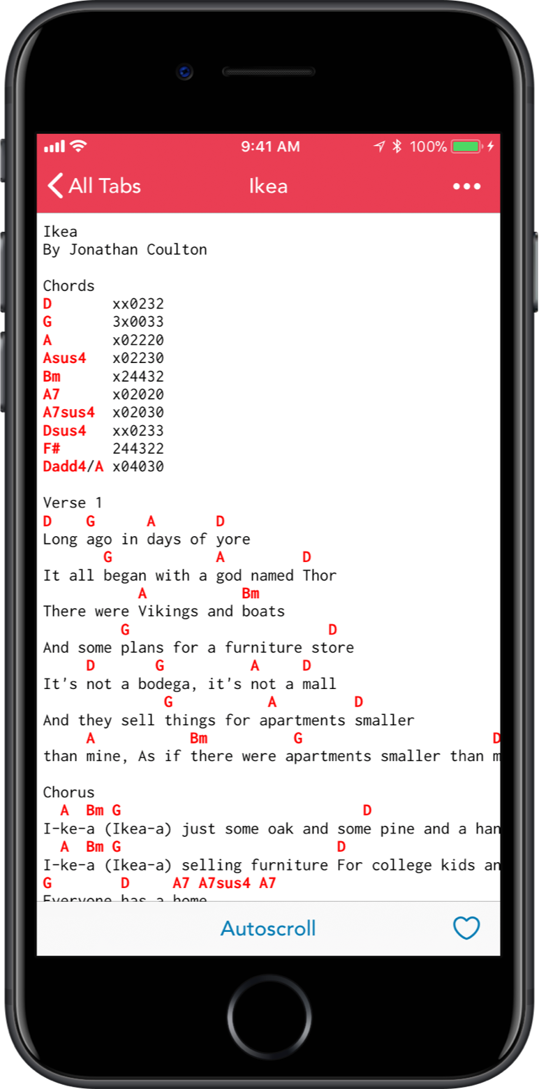 Practice Book iPhone Song Screenshot